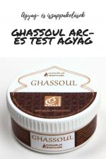 Ghassoul arc- és testagyag